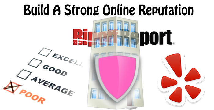 build a strong online reputation